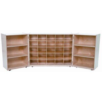 Wood Designs Tri Fold Storage Unit