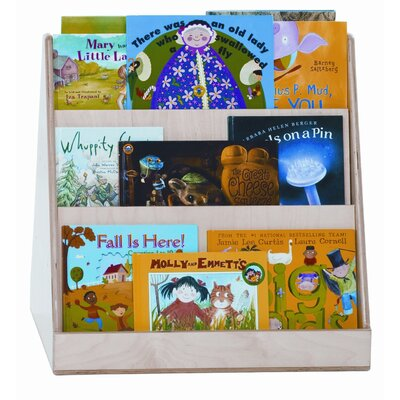 Wood Designs Two Sided Tot Size Book Display