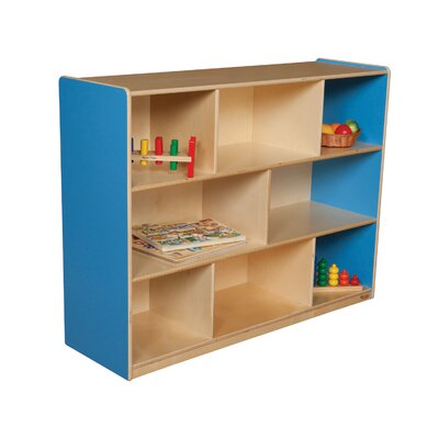"Wood Designs 36"" Mobile Single Storage Unit with Hardboard Back"