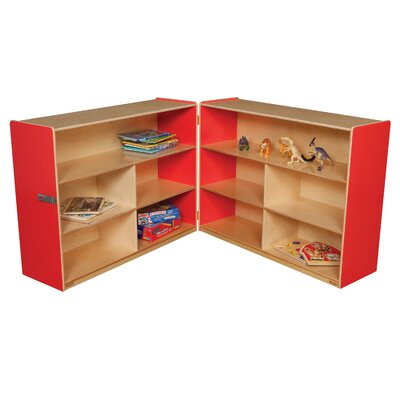 "Wood Designs 36"" Versatile Folding Storage Unit"