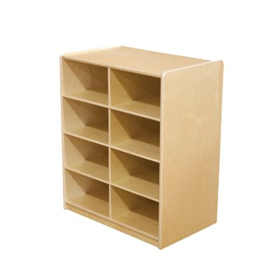 "Wood Designs Storage Unit with 5"" 8 Letter Trays"