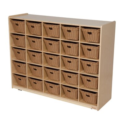 "Wood Designs Natural Environment 48"" Storage Unit"