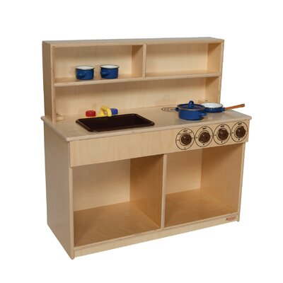 Wood Designs Natural Environment 3-in-1 Kitchen
