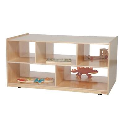 "Wood Designs Natural Environment 24"" Double Storage Island"