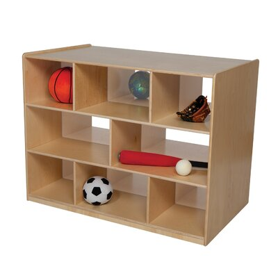 "Wood Designs Natural Environment 38.75"" Bookcase"