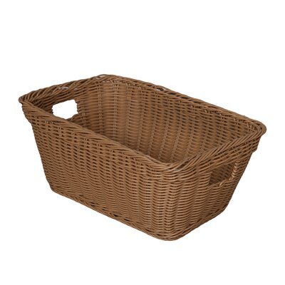 Wood Designs Natural Environment Basket in Natural Tan