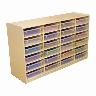 Wood Designs Letter Tray Storage Unit
