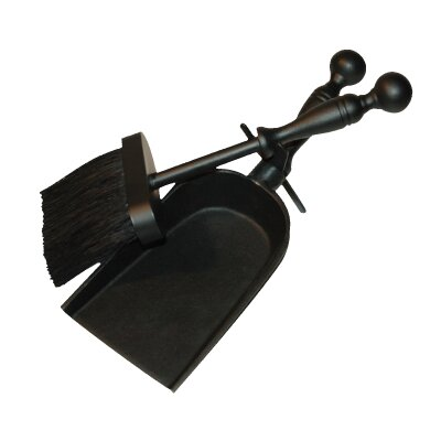 Napoleon 2 Piece Cast Iron Fireplace Tool Set