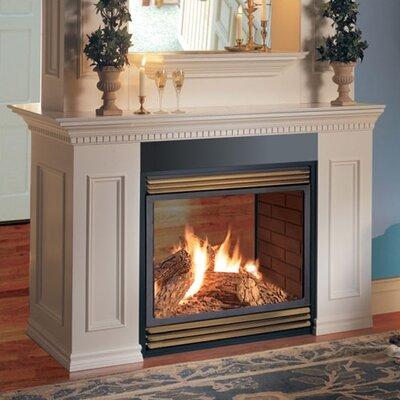 See thru vent free gas fireplace wayfair for See thru fireplace