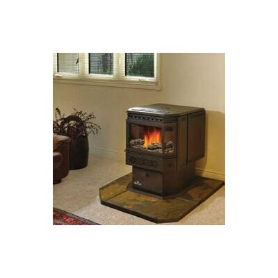 Napoleon pellet stove decorative log set reviews wayfair - Pellet stoves for small spaces set ...