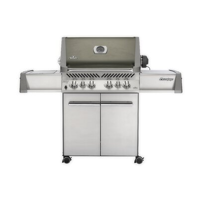 "Napoleon 28"" Prestige Gas Grill with Rear and Side Infrared Burners"