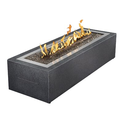 Linear Patio Flame Fireplace