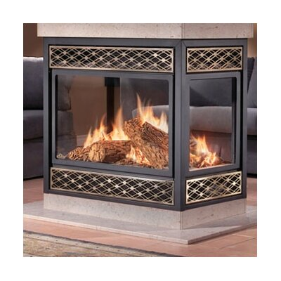 Island Natural Vent Gas Fireplace