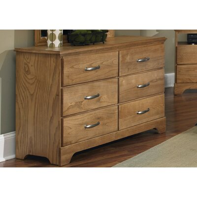 Carolina Furniture Works, Inc. Sterling 6 Drawer Dresser