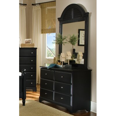 Carolina Furniture Works, Inc. Midnight 6 Drawer Dresser