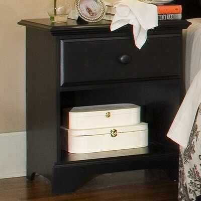 Midnight 1 Drawer Nightstand