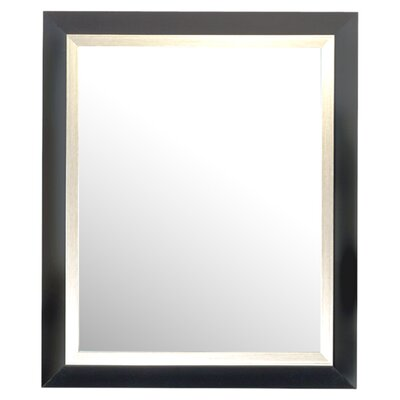 "<strong>Alpine Art and Mirror</strong> 35"" H x 29"" W Carson Framed Mirror"