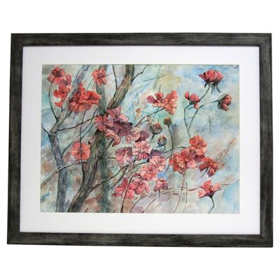 <strong>Alpine Art and Mirror</strong> Premier Cherry Tree in Bloom Wall Art