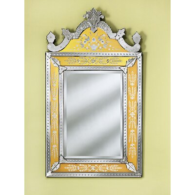Venetian Gems Natasha Medium Wall Mirror in Gold