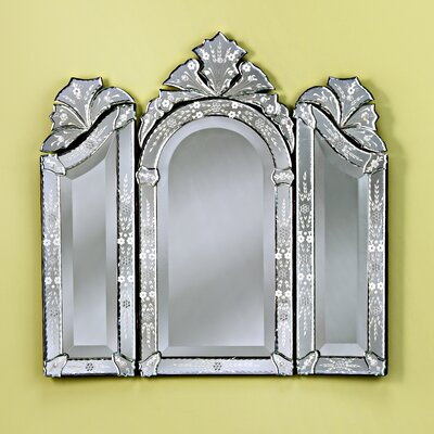 Monet Wall Mirror in Clear