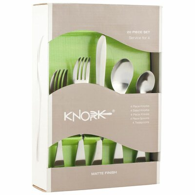 Knork 20 Piece Flatware Set