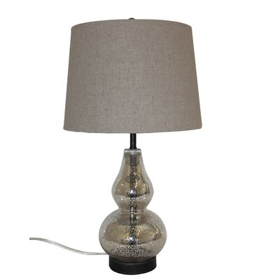 White x White Callie Table Lamp