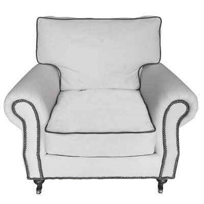 White x White Thomas Linen Chair