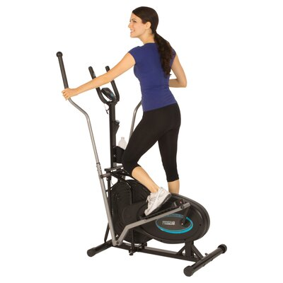 ProGear 300LS Air Elliptical Upright Bike with Heart Pulse Sensors