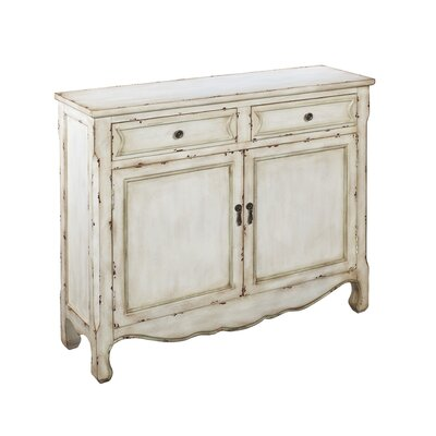 Coast to Coast Imports LLC 2 Drawer 2 Door Cupboard