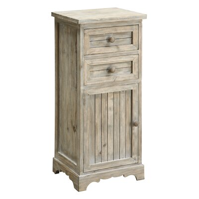 Coast to Coast Imports LLC 2 Drawer 1 Door Cabinet