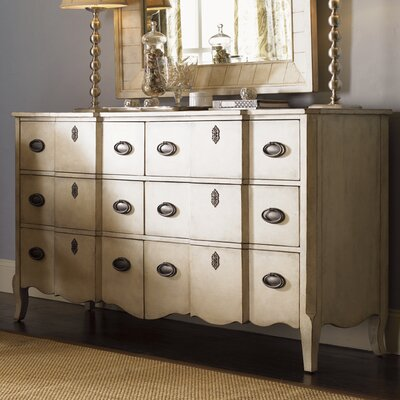Lexington twilight bay devereaux 6 drawer dresser Lexington country cottage bedroom furniture