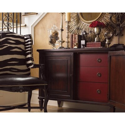 Lexington Barclay Square Columbia Accent Chest and Optional Mirror Set