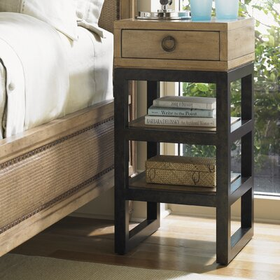 Monterey Sands Rossmore 1 Drawer Nightstand