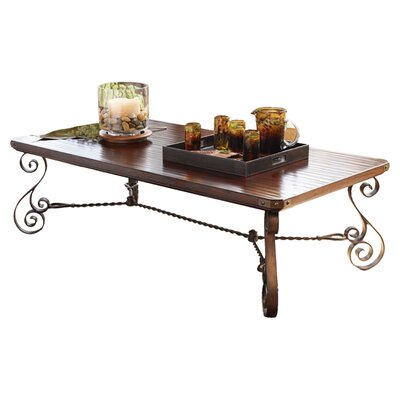 Lexington Fieldale Lodge Cherry Creek Rectangular Coffee Table Reviews Wayfair