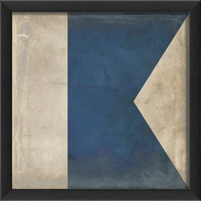 Blueprint Artwork Signal Flag A Wall Art