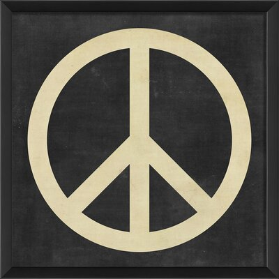 Blueprint Artwork Peace Wall Art