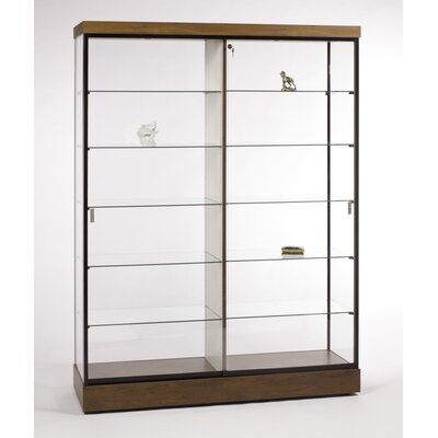 "Tecno Display 60"" Wall Display Case with Divider"