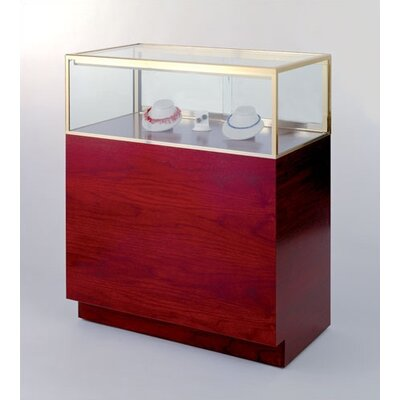 Tecno Display Quarter-Vision Jewelry Case with Standard Finishes
