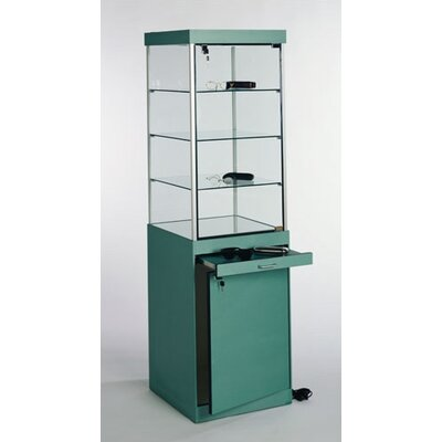 Tecno Display Optical Square Tower Display Case