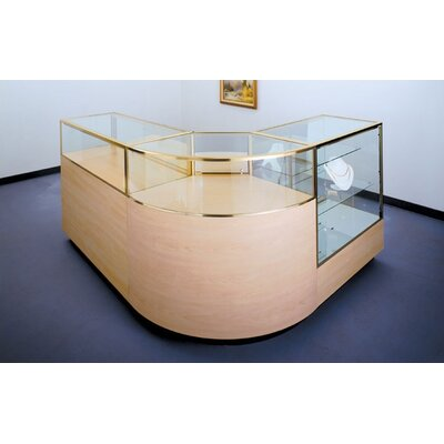 Tecno Display Full Vision Jewelry Display Case Set