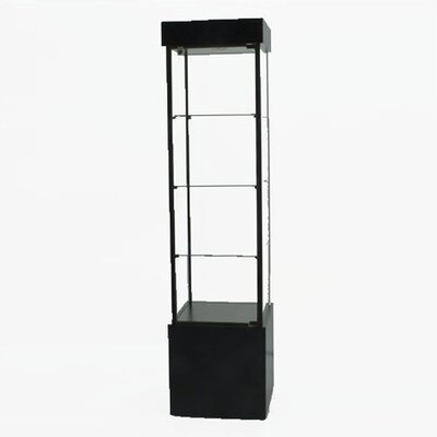 Tecno Display Displays 4 Less 900 Square Tower Display Case