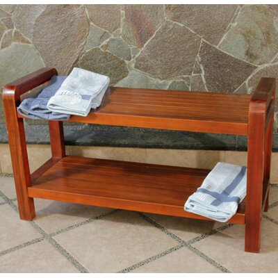 Decoteak LiftAide Teak Bathroom Spa Bench