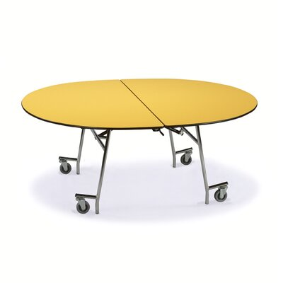 "Midwest Folding Products 29"" x 72"" x 60"" Oval Mobile Table UnitZ"