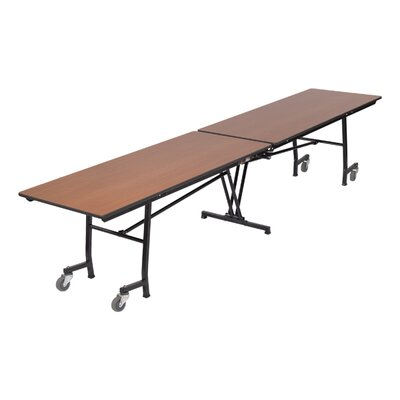 "Midwest Folding Products 27"" x 60"" x 30"" Rectangular Mobile Table Unit"