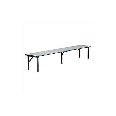 Midwest Folding Products Riser Shelf, Laminate Top