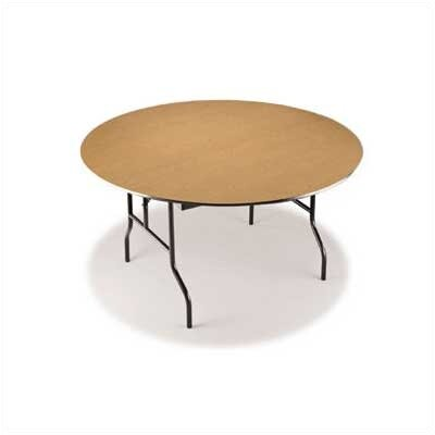 "Midwest Folding Products 36"" Round Plywood Core Game/Cocktail Table"