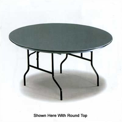 "Midwest Folding Products 30/60"" NLW Series Serpentine Folding Table"