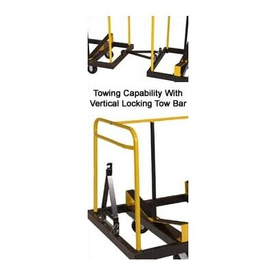 Midwest Folding Products Upperzone Seminar Table Truck