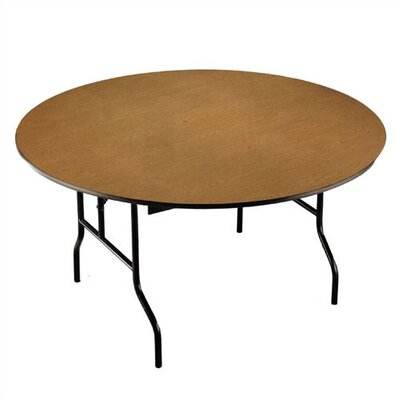 Midwest Folding Products Oval Banquet Table with Padded Top