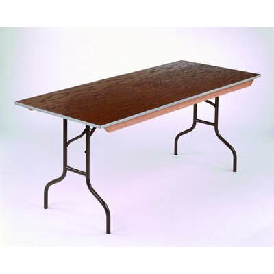 Midwest Folding Products Rectangular Banquet Table  with Plywood Top